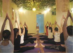 签署石家庄亚太瑜伽会馆网站建设合同